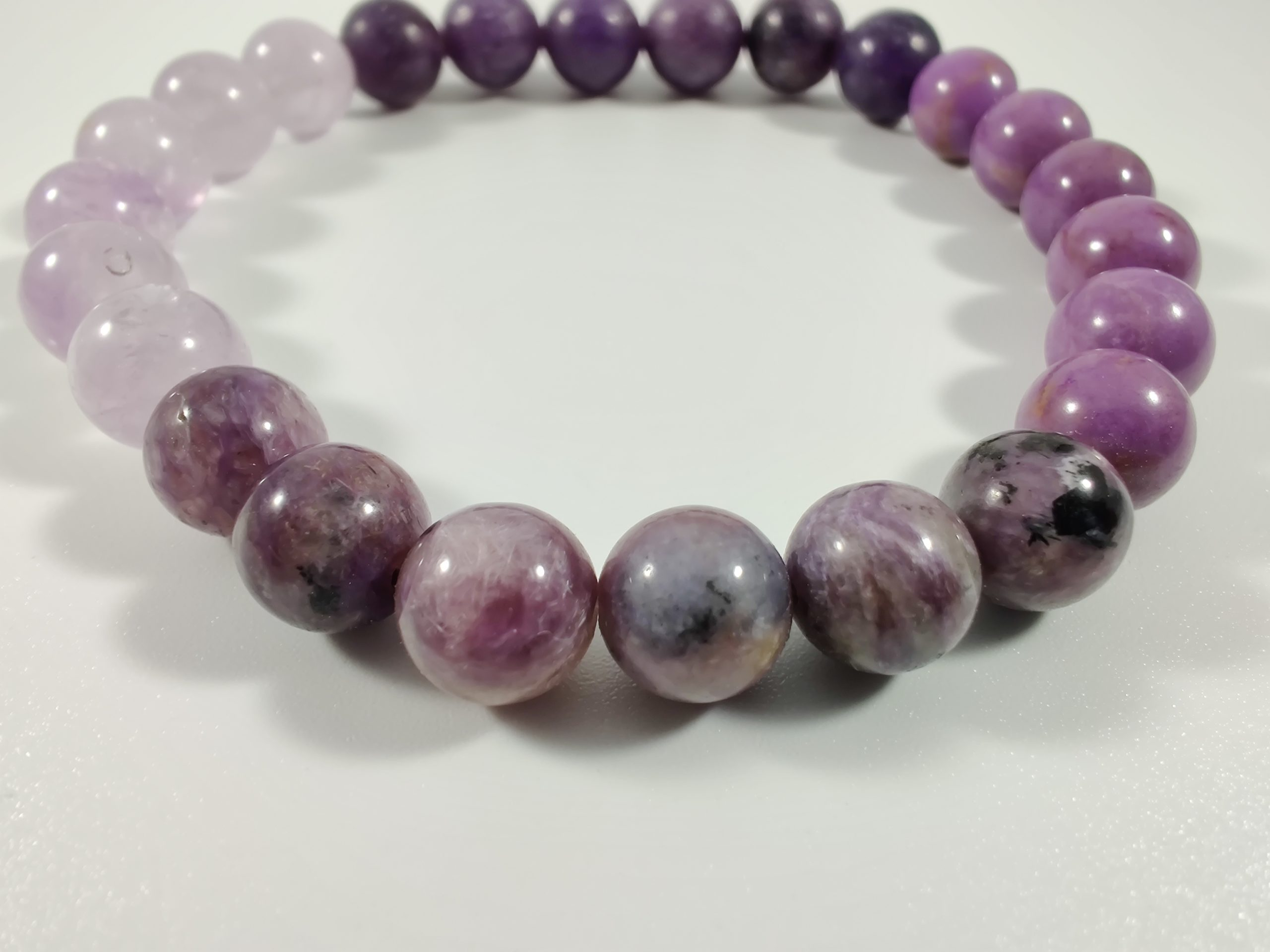 8mm Lepidolite Bracelet Rare Gemstone Bracelet AAA Grade Beaded Bracelet Lepidolite Lavender Jewelry,Gemstone Jewelry,Lepidolite Jewelry